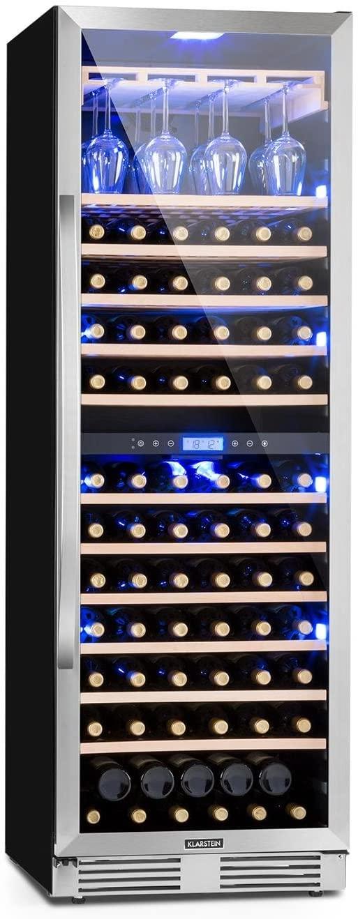 Avis synthétique sur la cave à vin XXL Klarstein Vinovilla Grande Duo