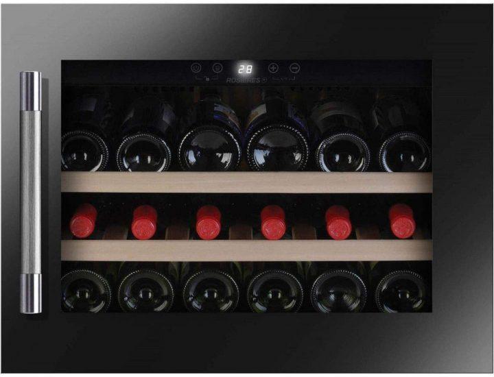 Cave à vin encastrable de vieillissement Rosieres RWCB45