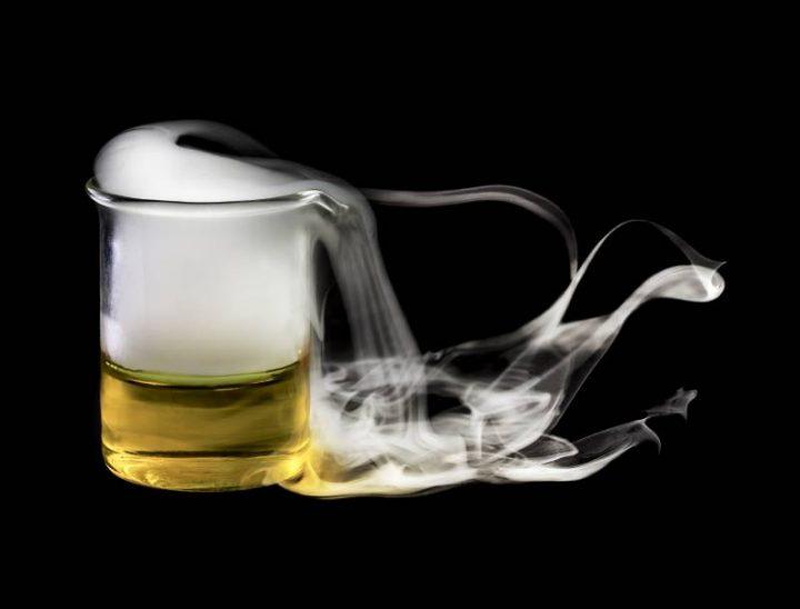 methode de conservation d'un vieux vin ouvert : l'azote liquide