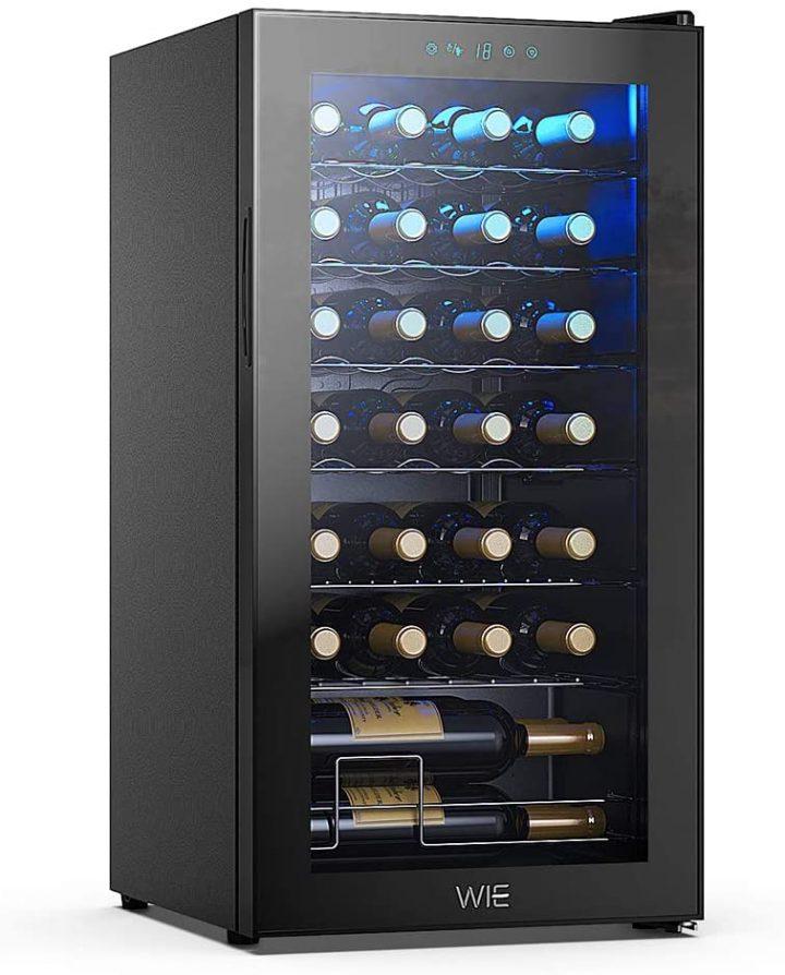 La cave à vin électrique WIE 28 bouteilles